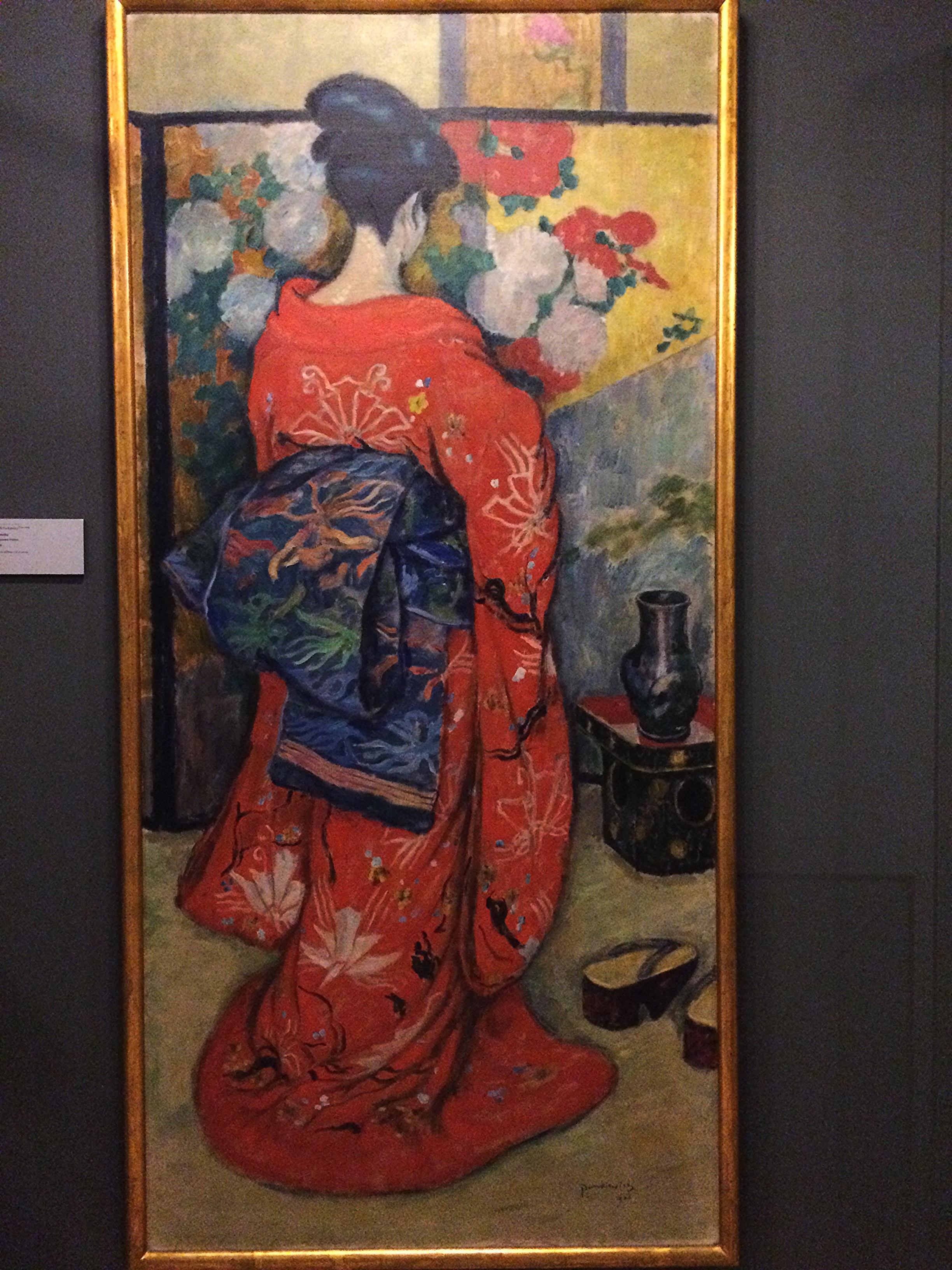 """""""Japonka"""" by Jozef Pankiewicz (1866-1940)"""