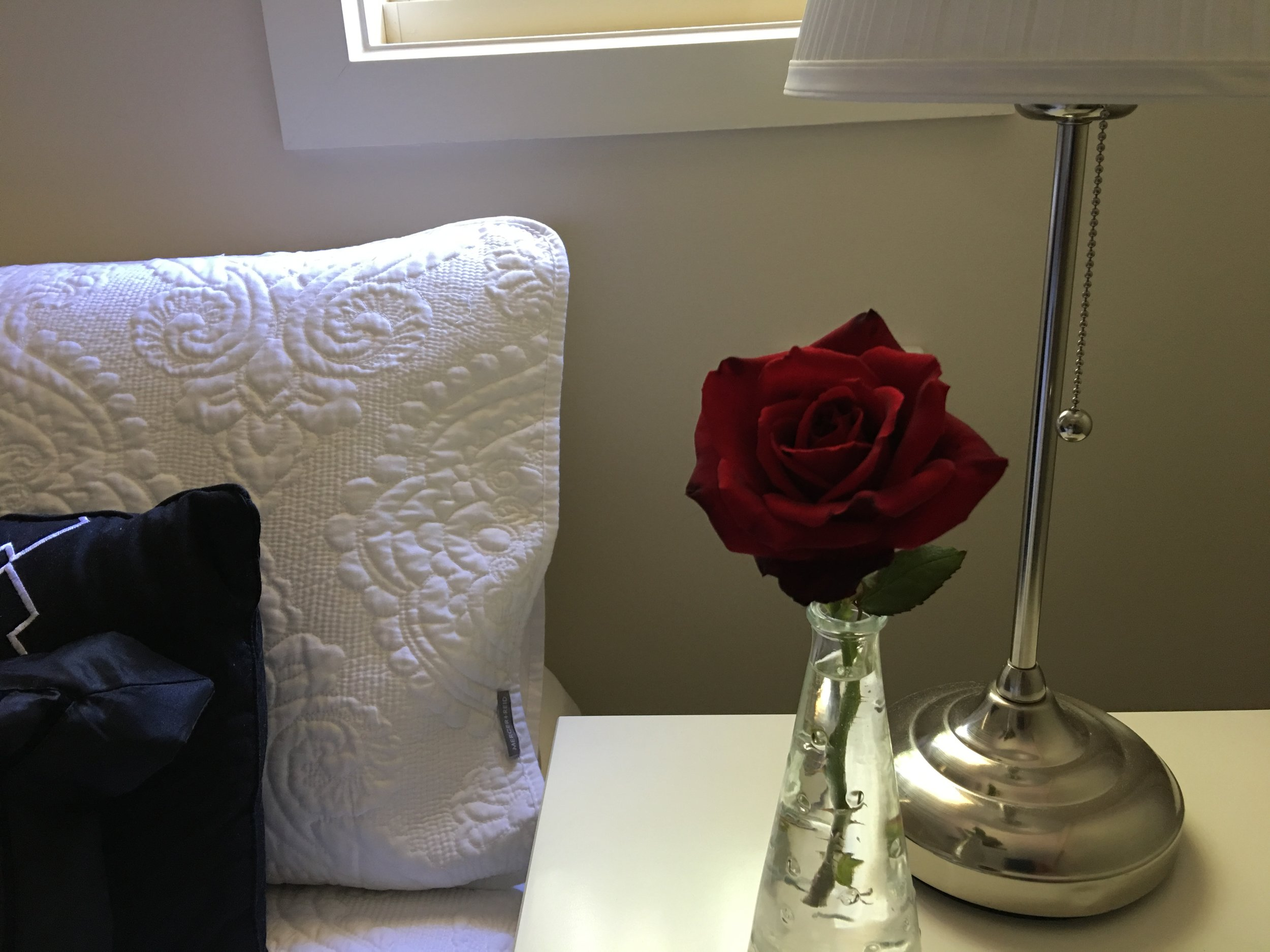 bed 1 with red rose.JPG
