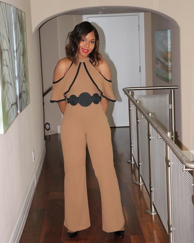 We got so many orders for this amazing jumpsuit. Did you order? Tag us in pics of you rocking your @womanevolve style.