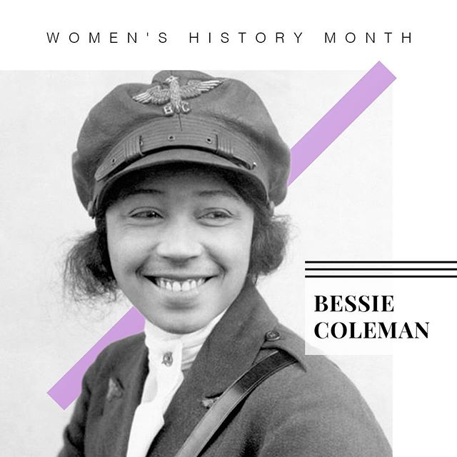 This Week's Historical Hail Mary shout out goes to: BESSIE COLEMAN! Who Is Bessie Coleman? _________ In 1922, a time of both gender and racial discrimination, Coleman broke barriers and became the world's FIRST black woman to earn a pilot's license. _________ She was denied entry to American Pilot schools so she taught herself French AND moved to France to earn her license!  _________ She became the FIRST African American woman to stage a public flight in America.  __________ She remains a pioneer of women in the field of aviation.  _________  #WomanEvolve #HailMary #BessieColeman