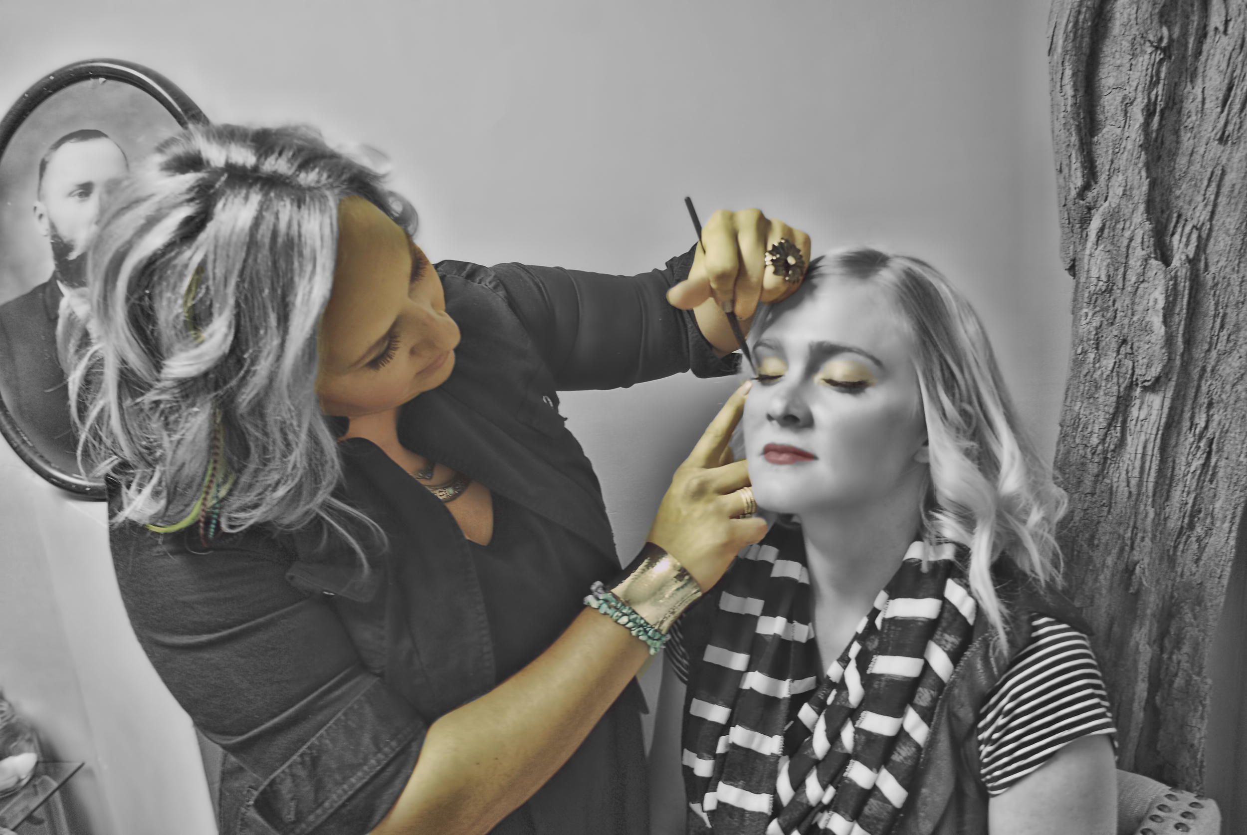"""Bring them to life with a little makeup - """"Makeup brings much needed color and excitement into our world. Makeup is art, and a little makeup never hurt anyone. A wise woman once said, 'A girl should be two things...classy, and fabulous.'""""   -Coco Chanel"""