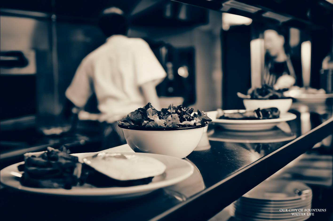 """According to some online sources, the average waiter at a restaurant in 2016 makes about $5.01 an hour in the United States. Like most states however, a server here in Columbus, Georgia only makes $2.13 an hour plus tips. Most restaurants also mandate their wait staff to tip out their bartenders, food runners, sometimes food expediters and """"bussers"""", which means some servers bring in around 70% of  their daily cash tips. In this city, one of the things we know best is food. It's amazing to me that a $4.2 billion dollar a year industry has guidelines that to most...seem a bit outdated when it comes to the fairness of employee wage. According to the United States Department of Labor, The Fair Labor Standards Act (FLSA) requires payment of at least the Federal minimum wage to be covered for nonexempt employees.  If this concept is new to you, I encourage you try to follow this closely. Non-exempt is the more exact way of saying you are an hourly employee who is entitled to overtime when you work over 40 hours, and need to take leave for any hour you are out. It also means you are not in a management position--those are usually exempt. An employer of a tipped employee is only required to pay $2.13 an hour in direct wages if that amount plus the tips received equals at least the Federal minimum wage, the employee retains all tips and the employee customarily and regularly receives more than $30 a month in tips. If an employee's tips combined with the employer's direct wages of at least $2.13 an hour DO NOT equal the Federal minimum hourly wage, the employer must make up the difference. If the employer doesn't...well...they're breaking the law.  This week I dive into the lives of individuals working in a world I have known for over fifteen years; the restaurant industry. It is a world that certainly isn't for everyone. Many arguments exist when the subject of server wage is discussed. Some see waiting tables as a summer job for college kids, while others make it a living,"""