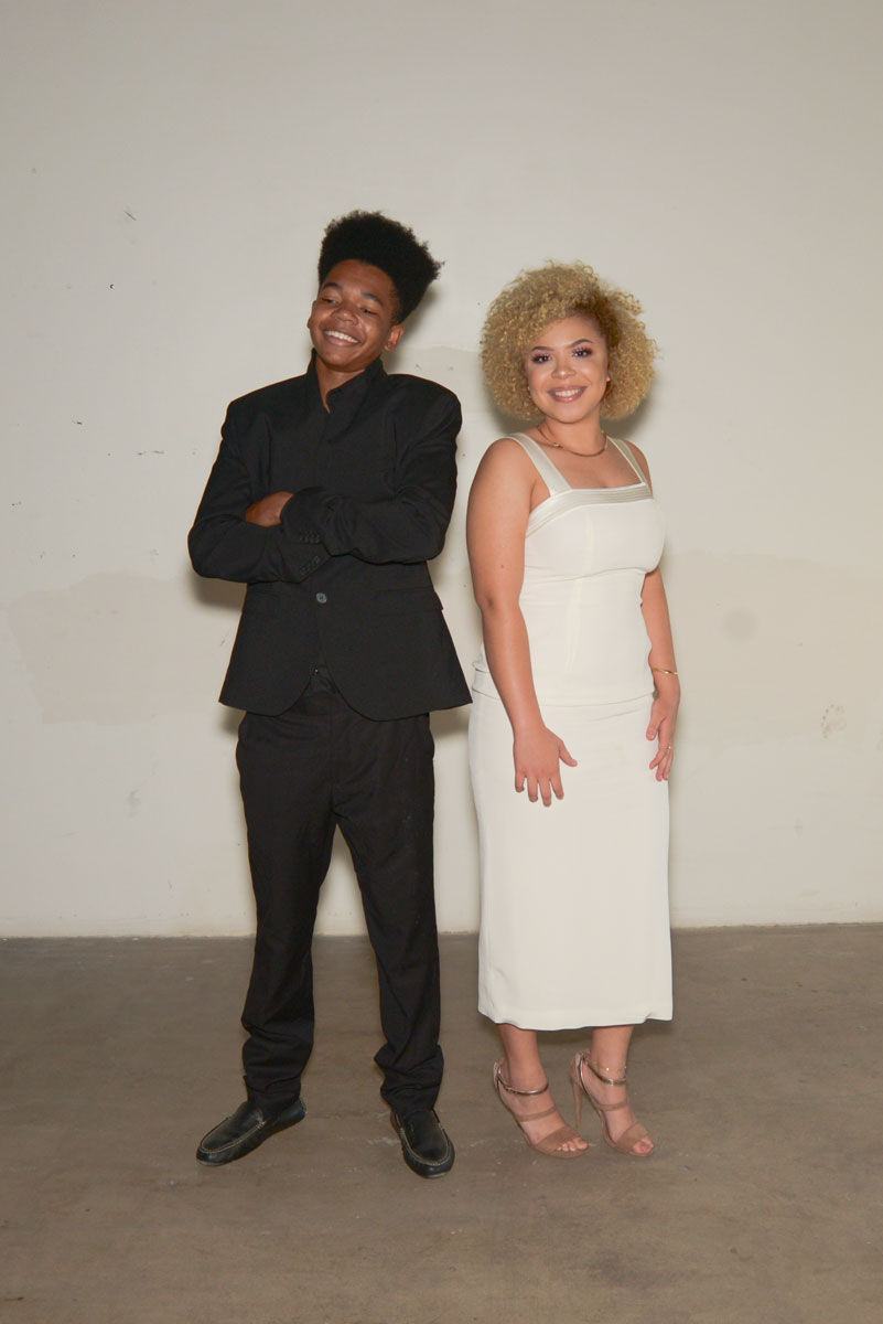 Amir Billings and Shoreigh Williams