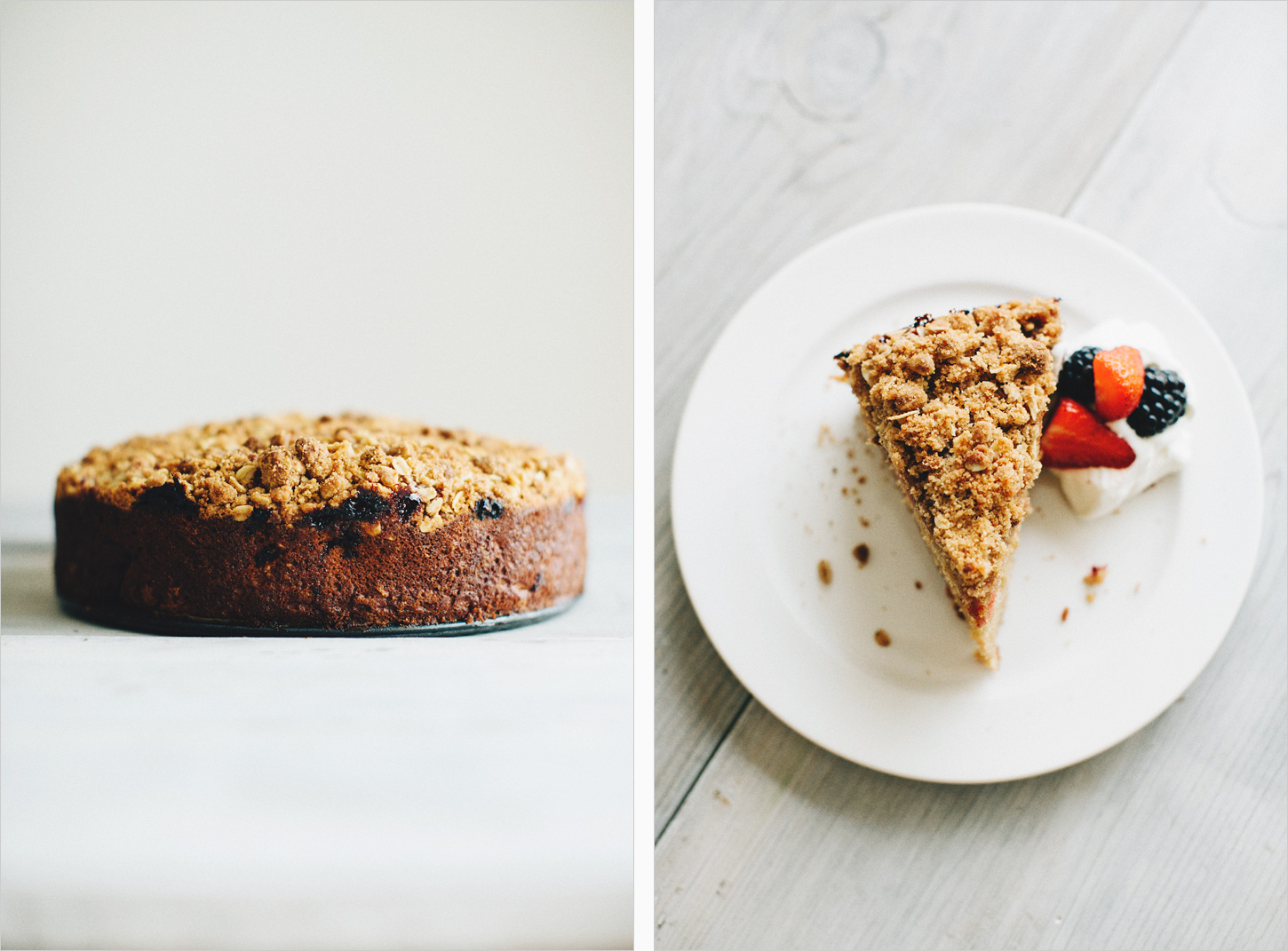 Buttermilk Berry Crumb Cake . Sprouted Kitchen