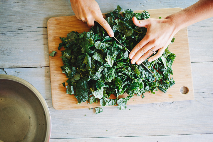 shredded kale salad . sprouted kitchen