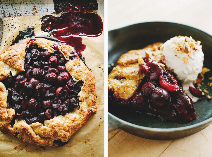 cherry galette . sprouted kitchen