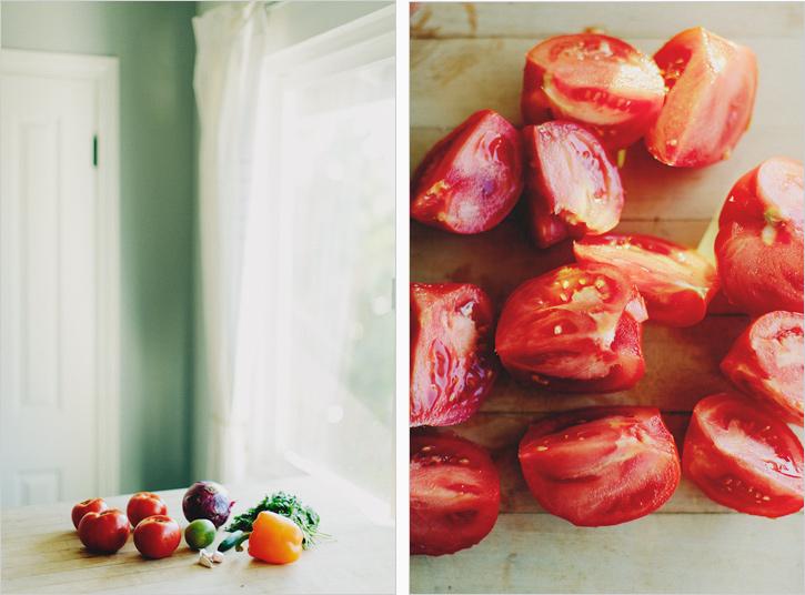grilled serrano salsa . sprouted kitchen