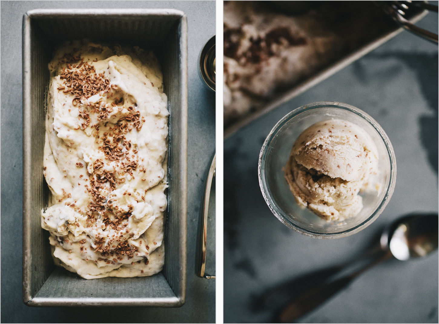 Roasted Banana Coconut Ice Cream . Sprouted Kitchen
