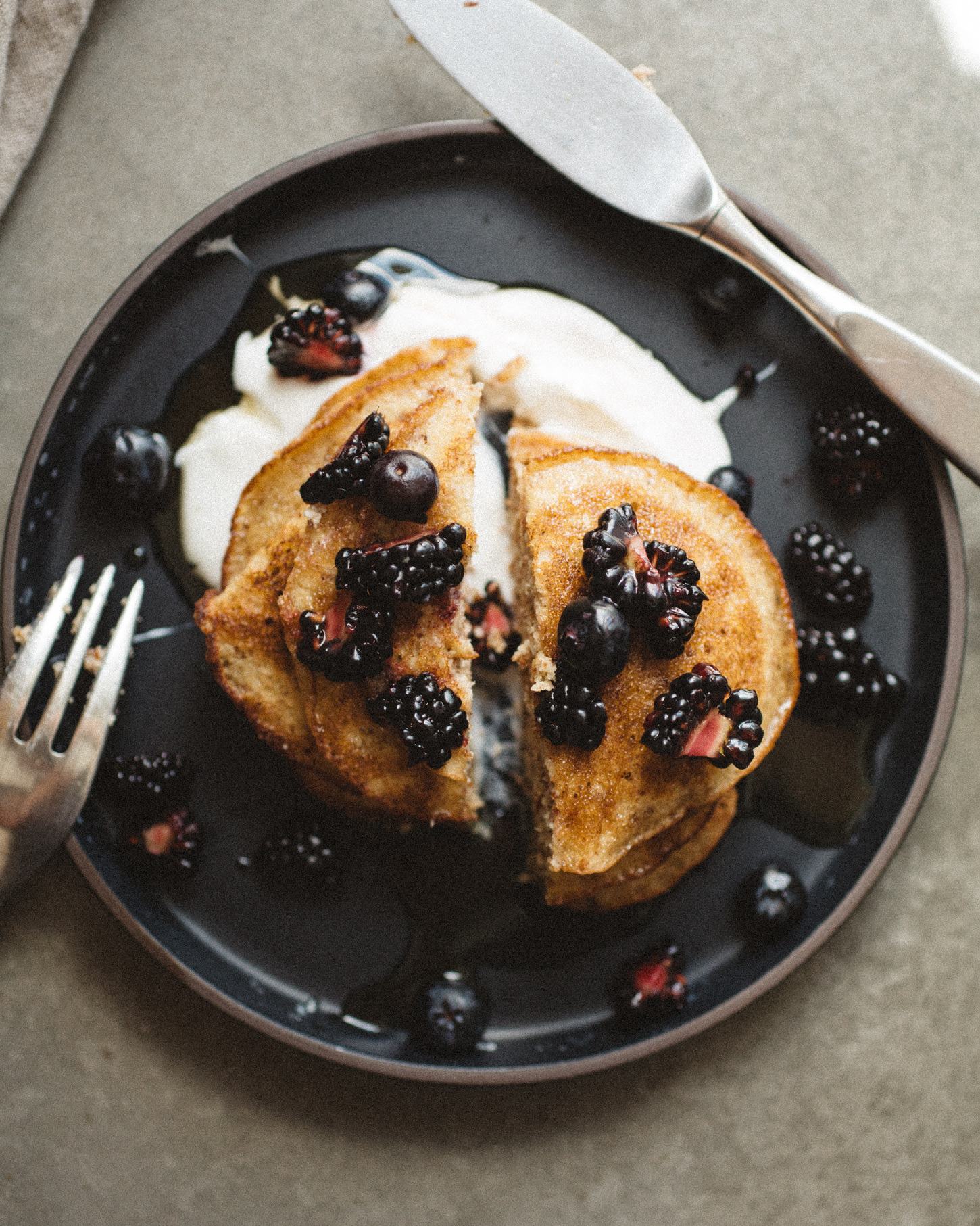 Coconut & Almond Flour Pancakes . Sprouted Kitchen