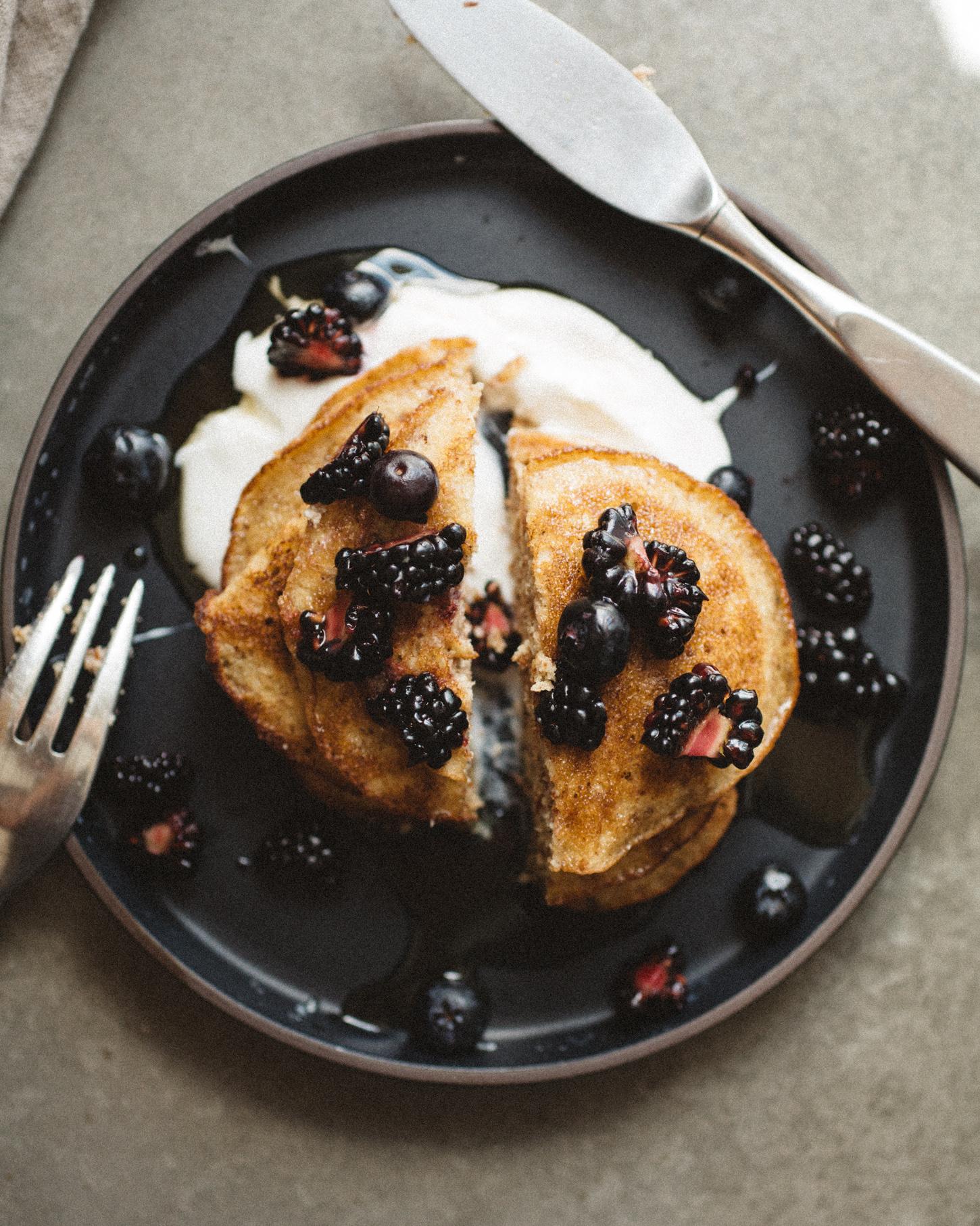 Coconut & Almond Flour Pancakes . Sprouted Kitchen