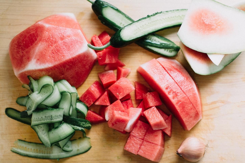 watermelon & cucmber