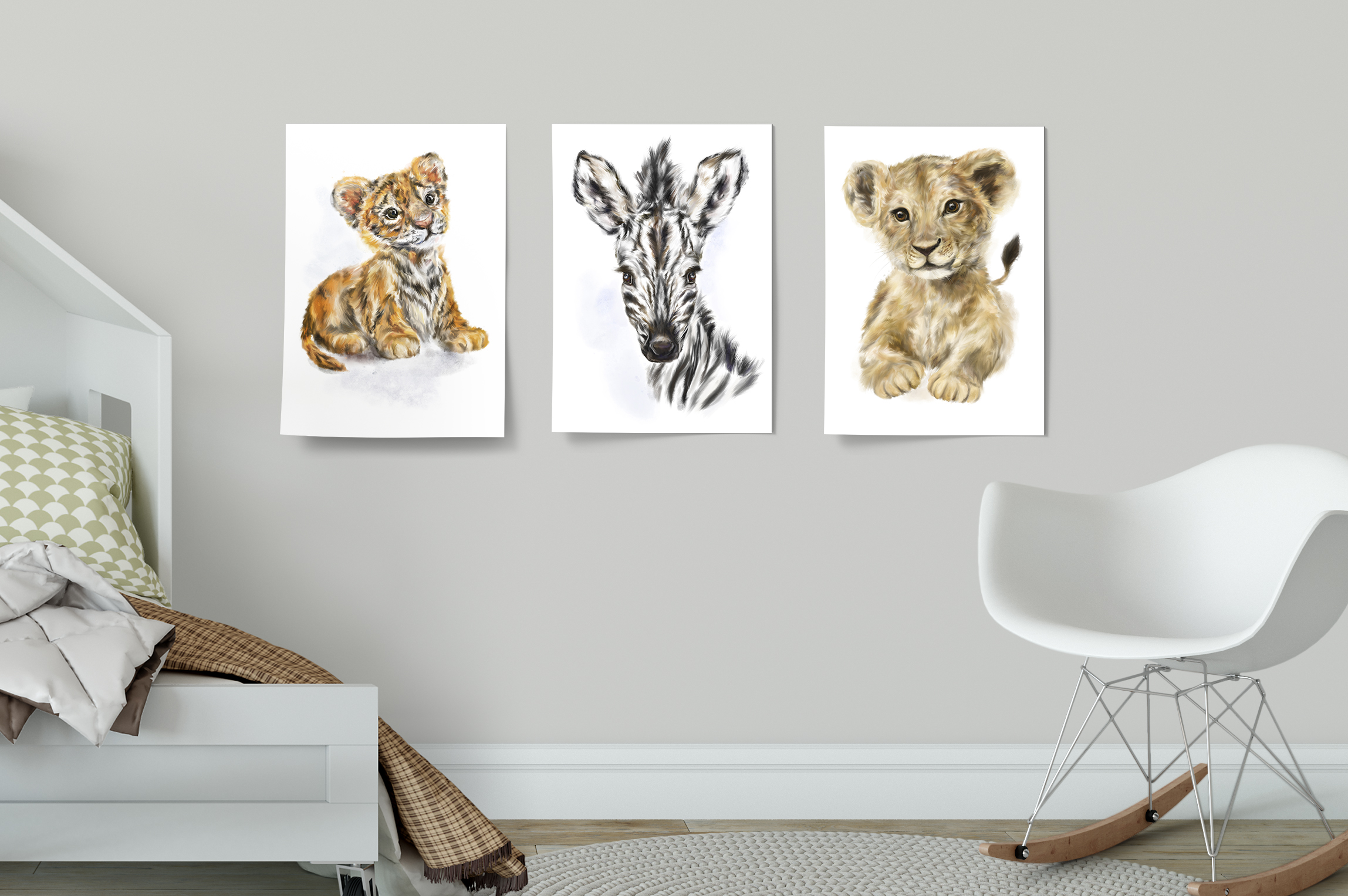 Fuss-Free Decor - Boring walls? Spruce 'em up with adorable posters!Perfect for kids rooms and nurseries, these posters are easy peasy to stick up — no frames needed.Choose from a wide selection of colourful characters, all printed on large A3 glossy paper.
