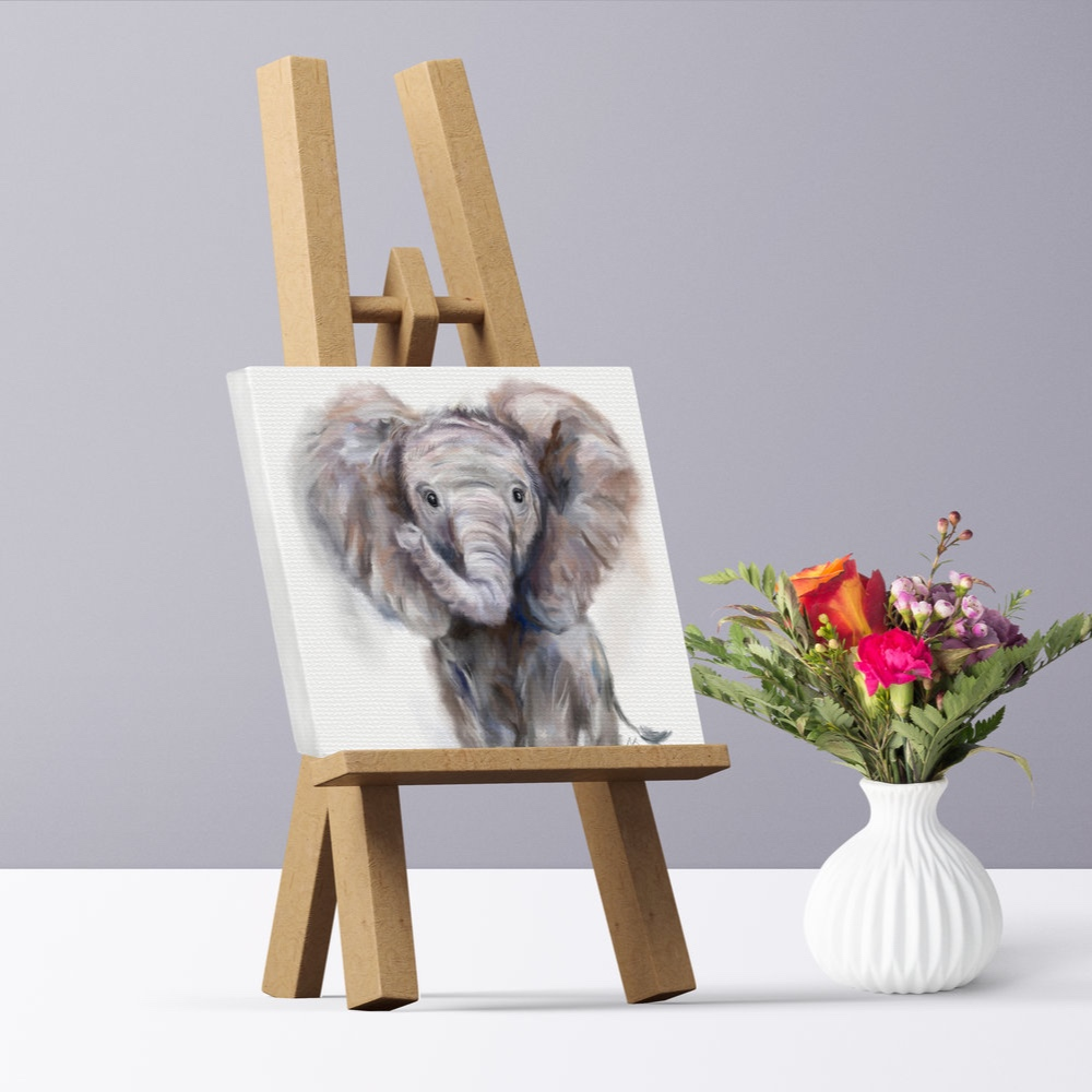 No frames needed - Canvases are ready to hang in your home-sweet-home