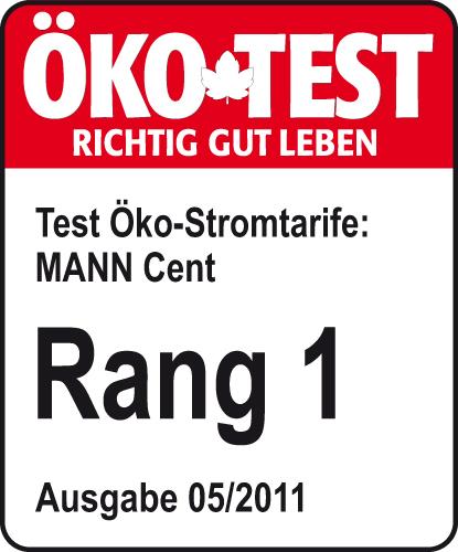 ÖKO-TEST_Rang 1_MANN Strom 2011