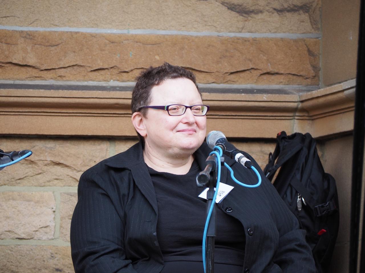 Maria Katsonis, author of The Good Greek Girl. Photo by John Grant.