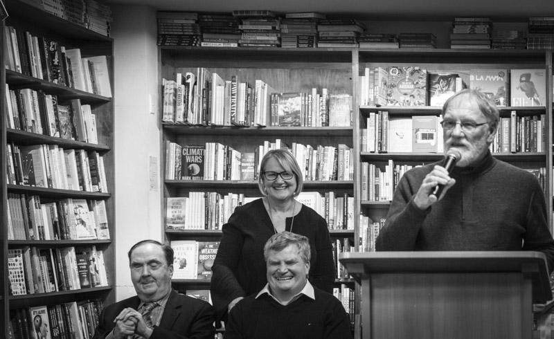 Maurice Gleeson, Caroline van de Pol, Nick Gleeson and Peter Bishop.
