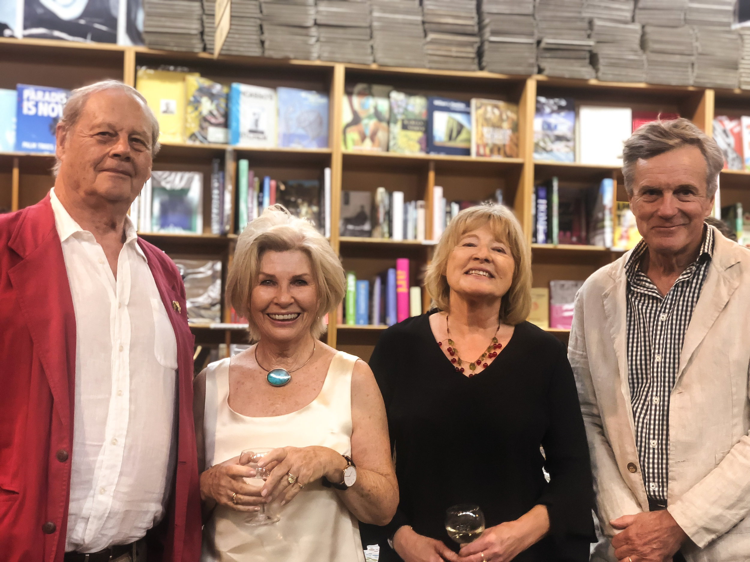 Bruce Beresford, Robyn Nevin, Virginia Duigan and Nicolas Hammond