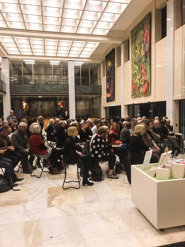 A full house at The National Library of Australia