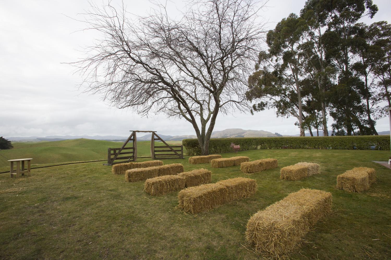 hay bales hawkes bay wedding photographers