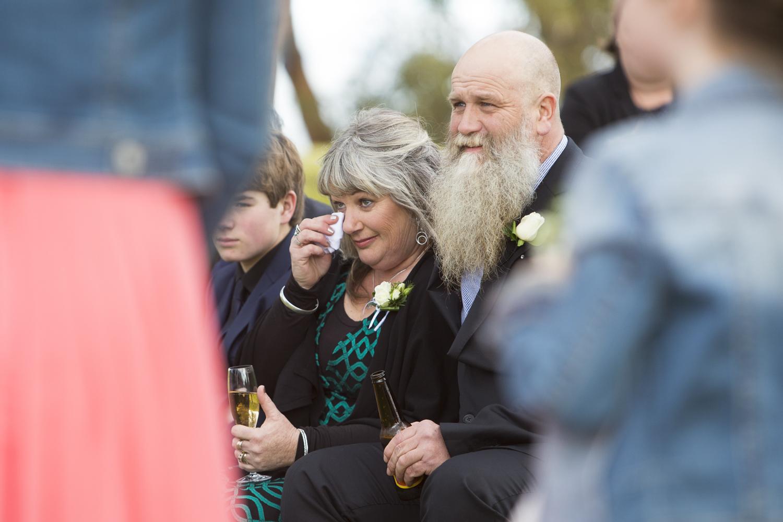 mum crying hawkes bay wedding photographers