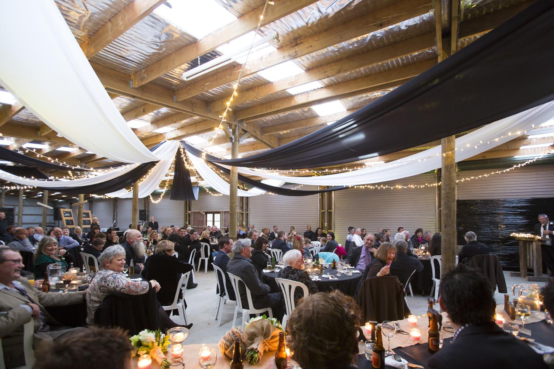 farm shed wedding reception hawke's bay