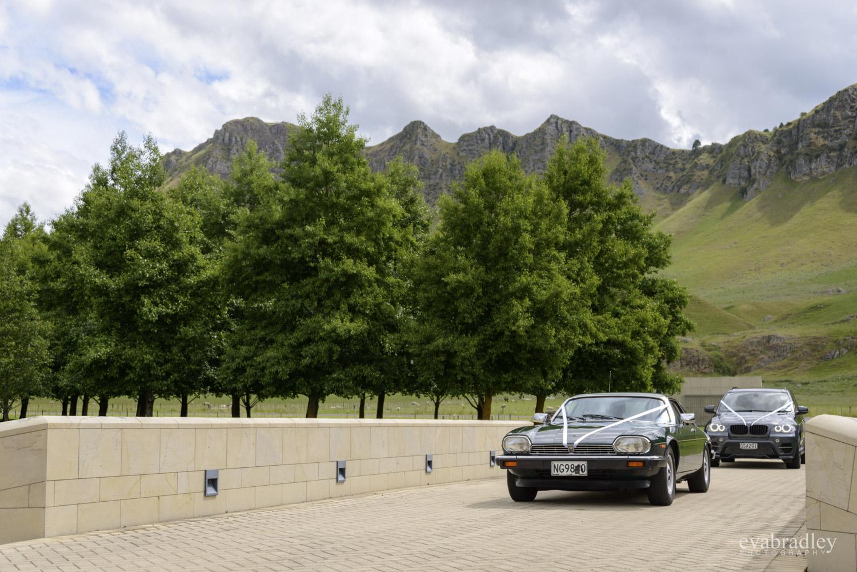 wedding cars craggy range