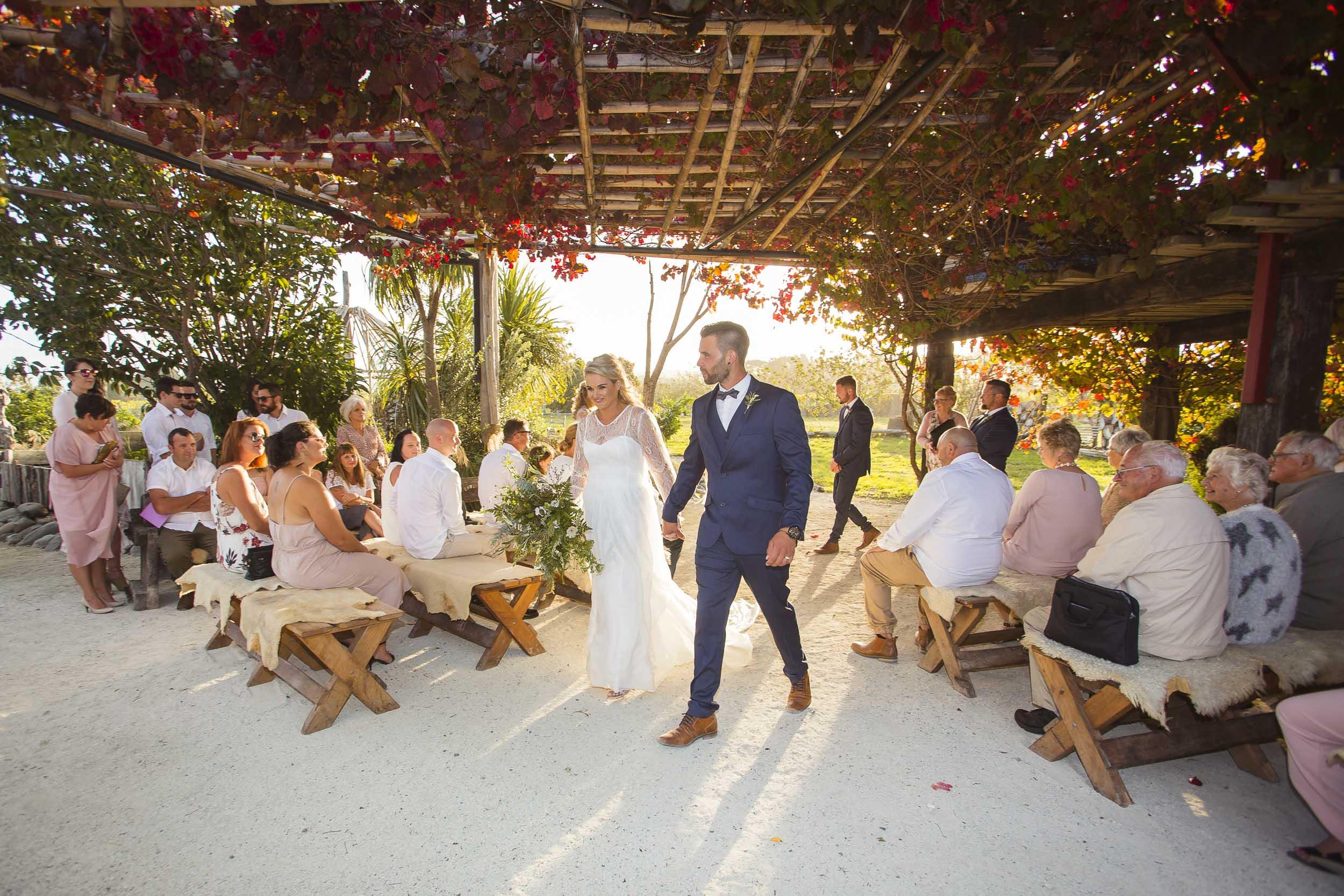 crab farm winery hawkes bay wedding
