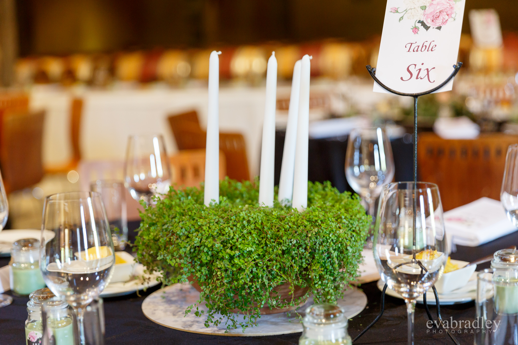 moss centrepiece weddings hawkes bay