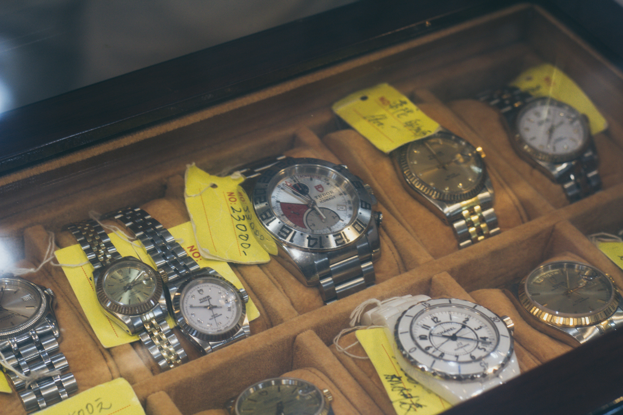 Selection of Rolex and Tudor watches