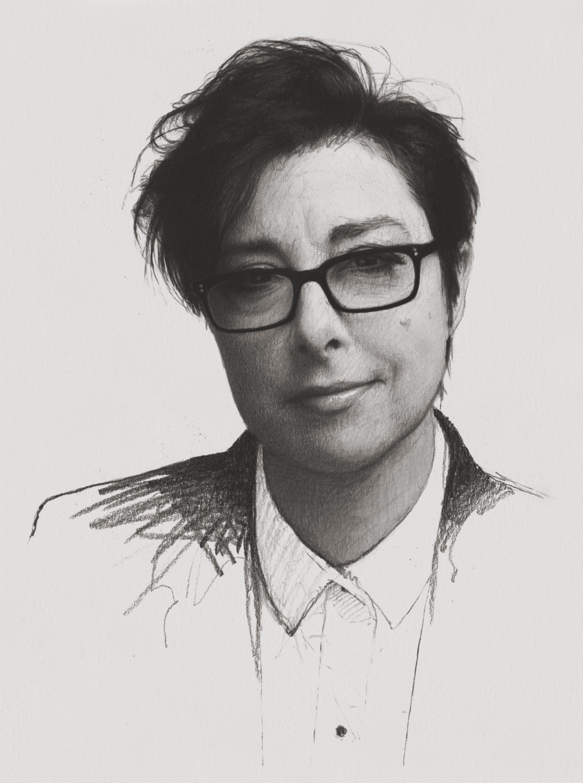 Sue Perkins (Preparatory study)