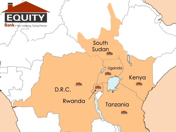 - Equity Bank Kenya became a cross-border acquirer on WAY4. The bank has extended operations from Kenya to Uganda, Tanzania, South Sudan and Rwanda, and tripled its portfolio to 40,000 merchants.