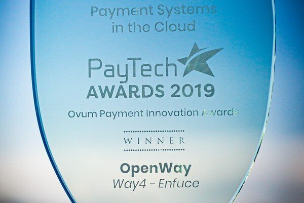 Enfuce uses WAY4 in the cloud to issue corporate multi-currency cards. The project won Ovum's PayTech award for cloud-based innovations.