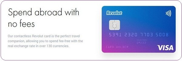 Revolut targets travelers, offering a large number of currencies within one card.
