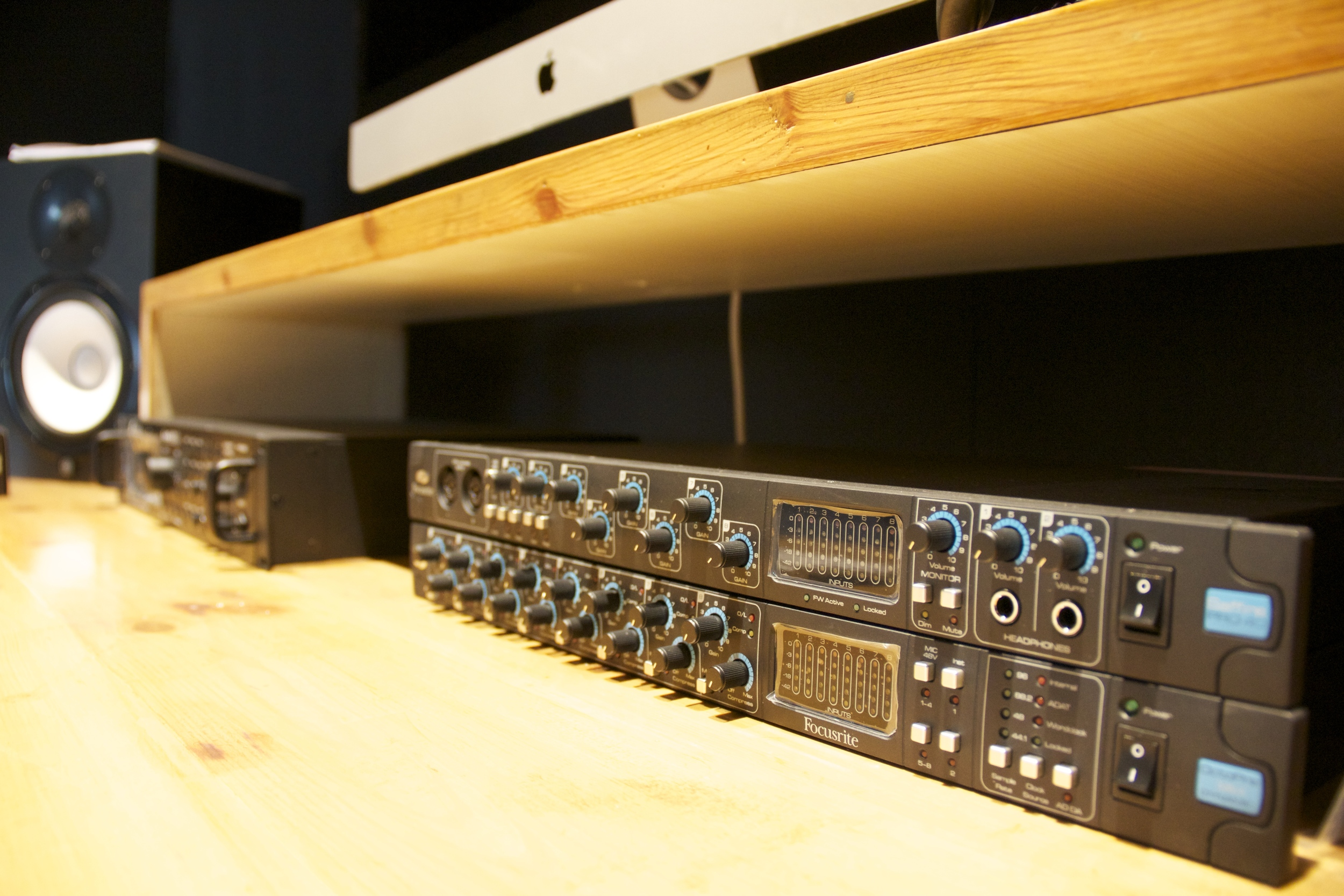 Focusrite Saffire Pro 40 and OktoPre MKII Dynamic - Audio interfaces