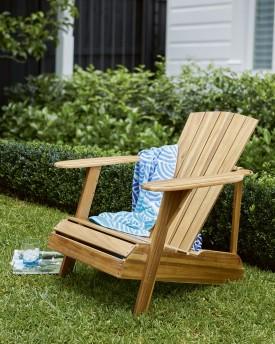 Del Terra Adirondack Vintage Chair