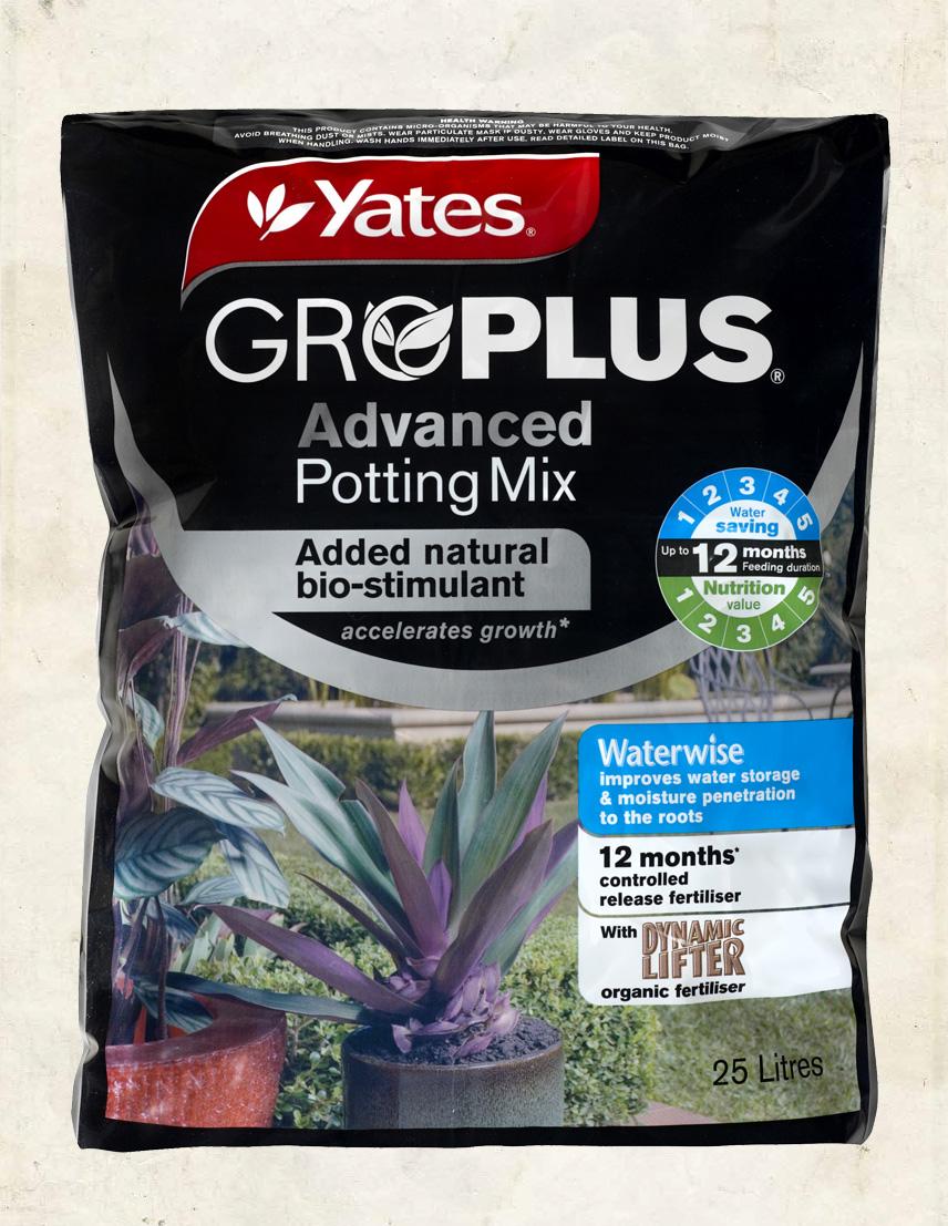 Yates GroPlus Advanced Potting Mix 25L