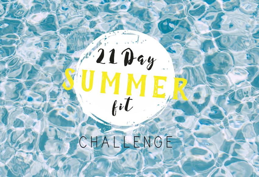 21 Day Summer Fit Challenge Logo