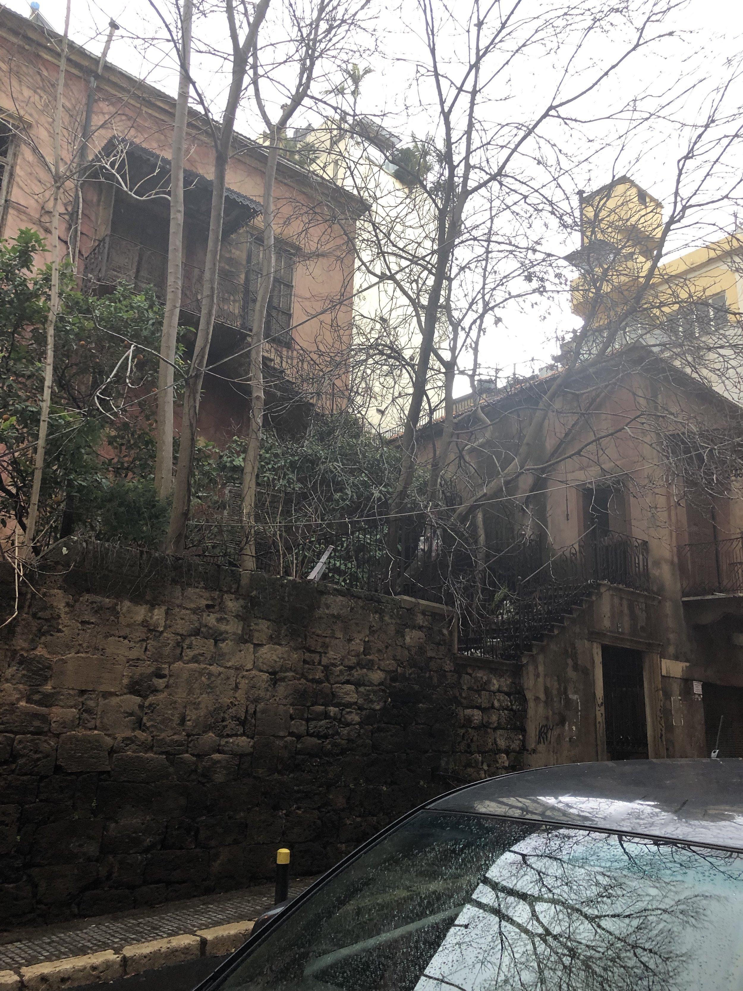 Modern ruins, Beirut