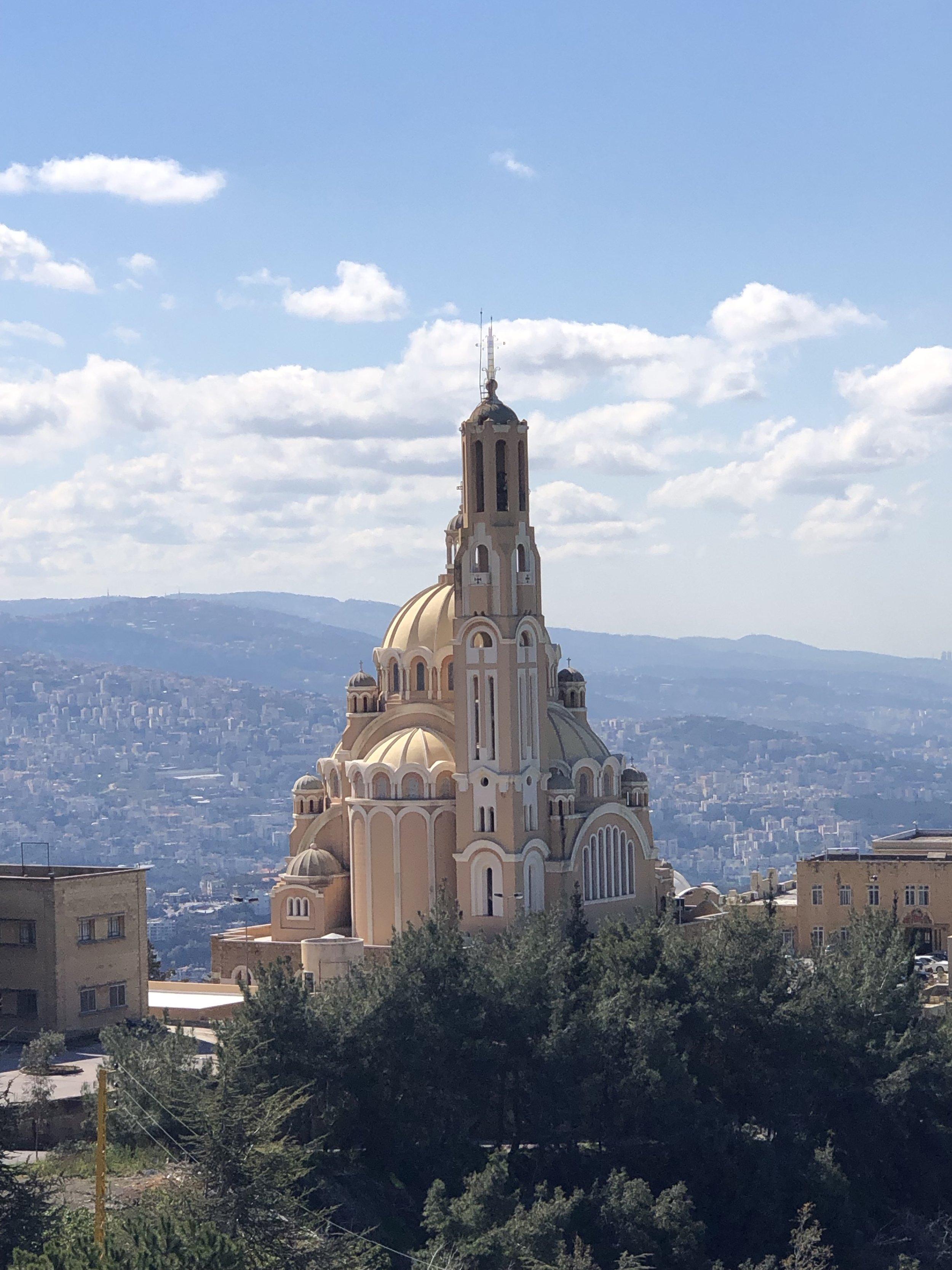 Church near Harissa, Lebanon