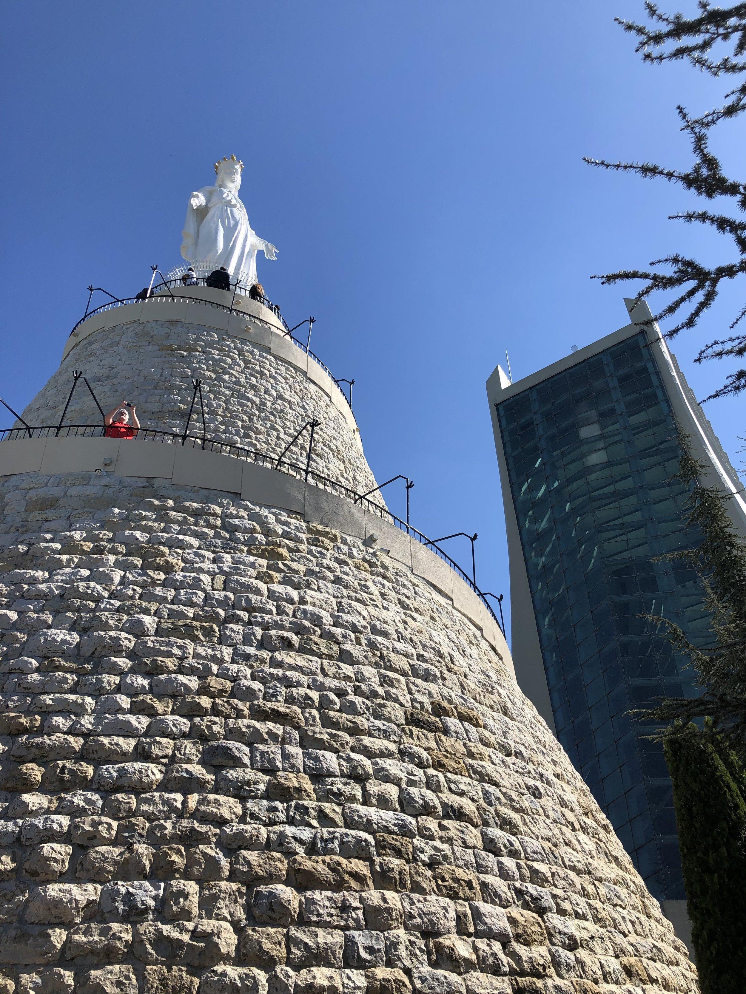 Well hello Mary! Harissa, Lebanon
