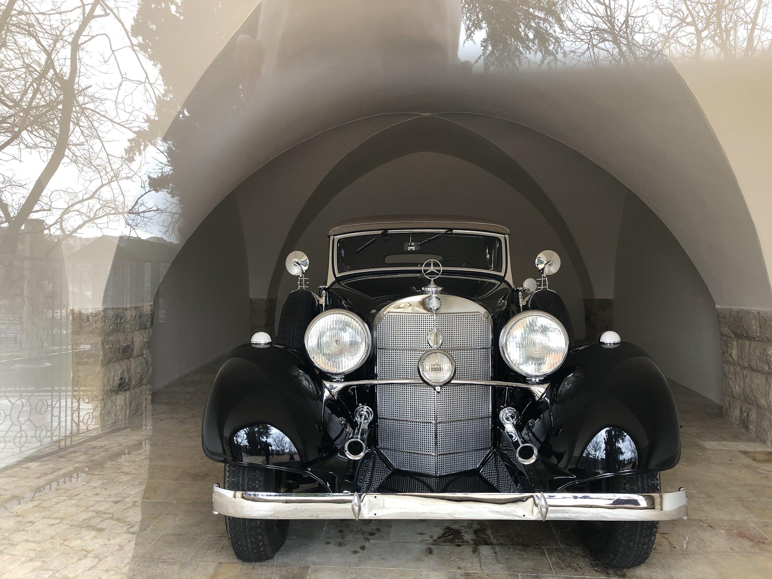 <<< Jumblatt's 1935 Mercedes