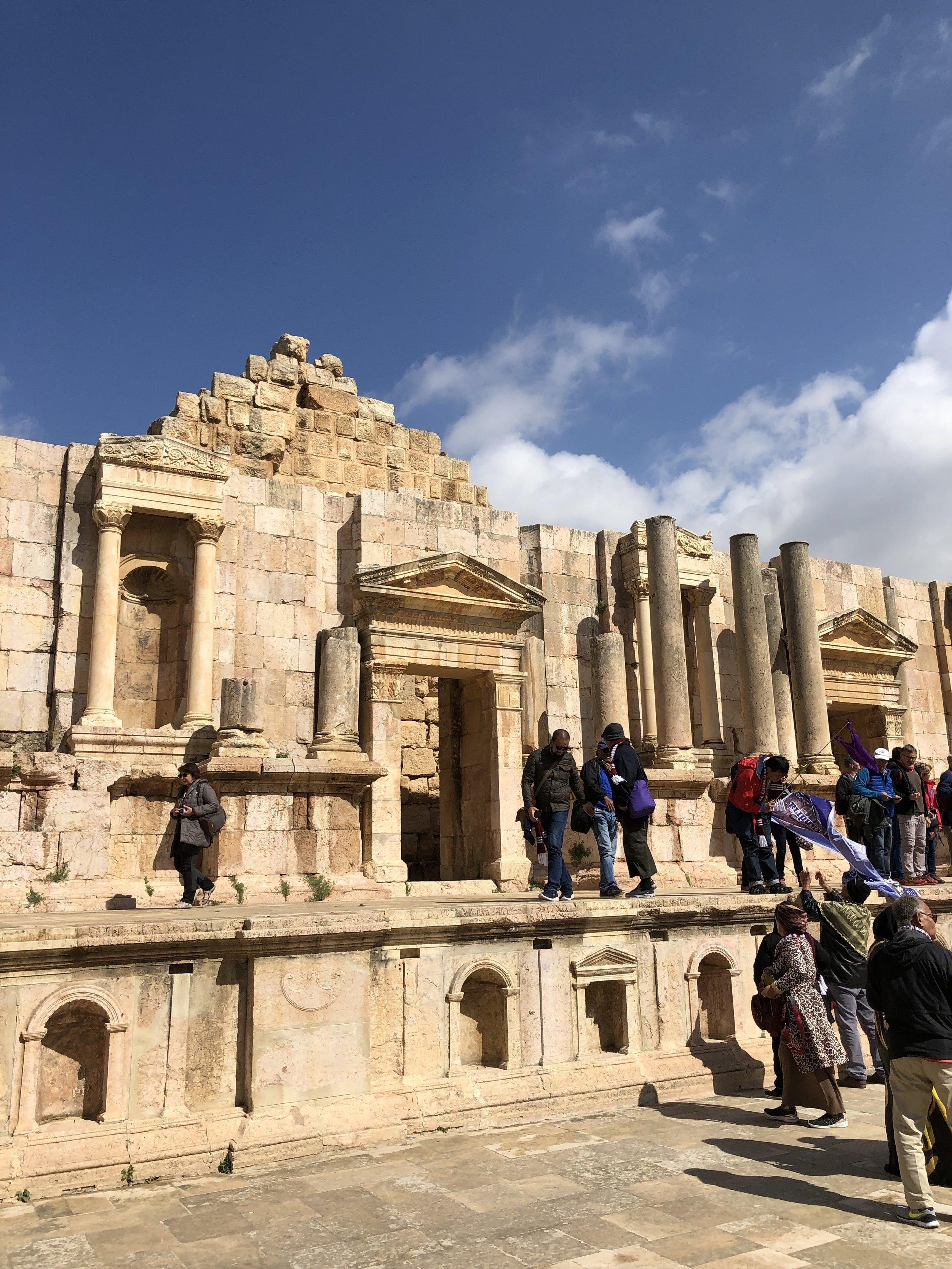 <<< Jerash, Jordan