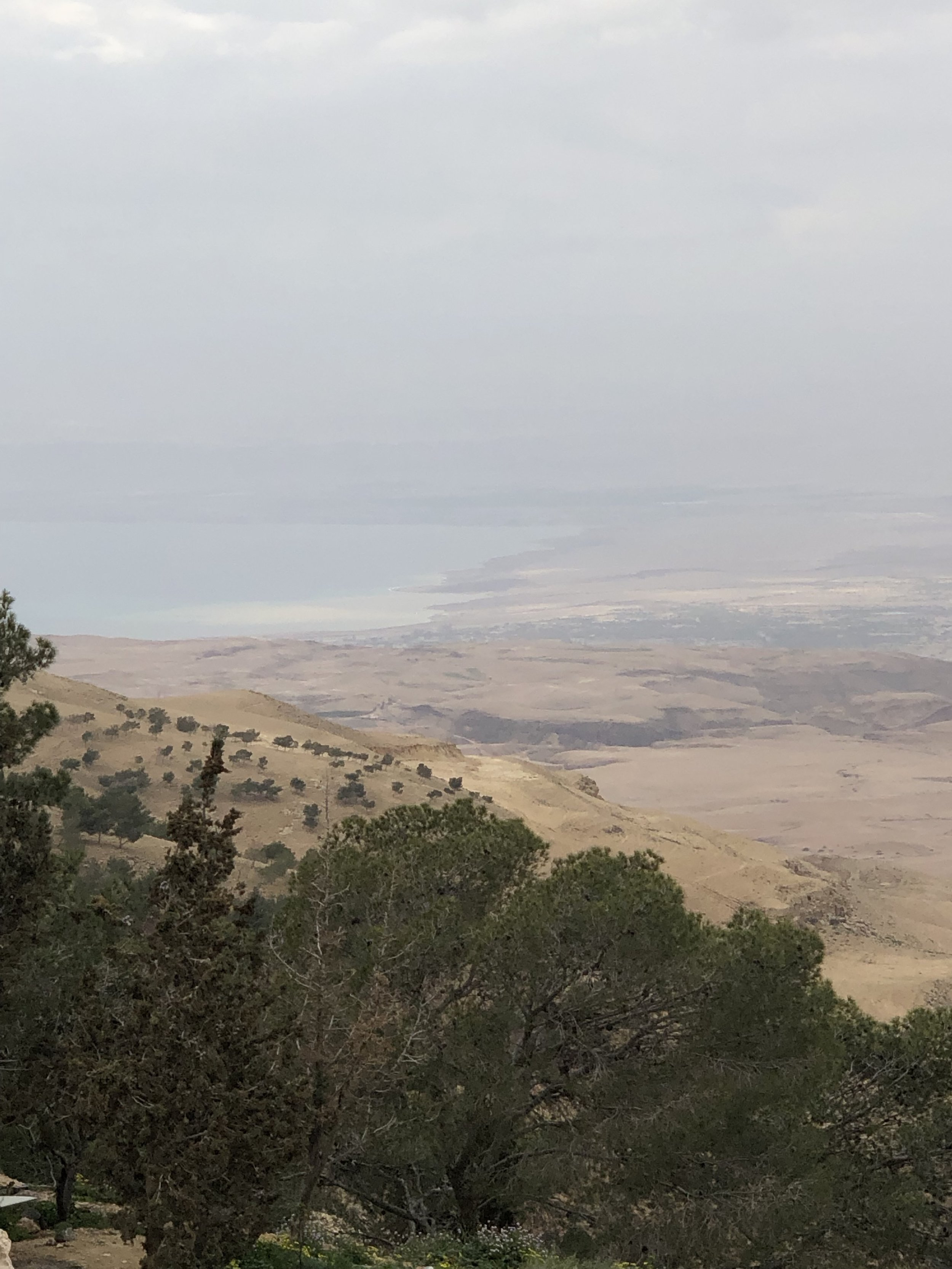 The Holy Land, from Mt. Nebo, Jordan