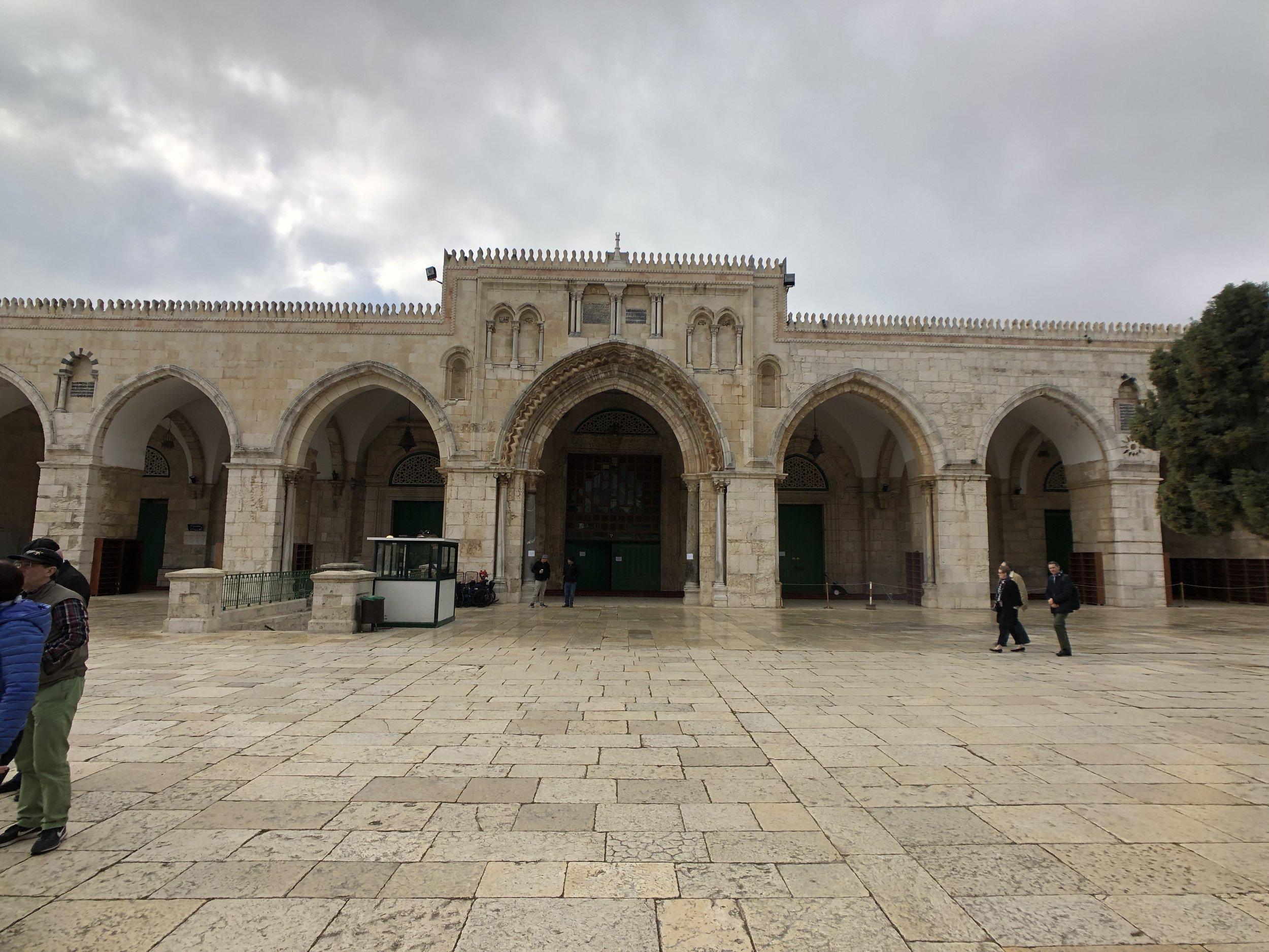 Al-aqsa Mosque, Temple Mount, Jerusalem