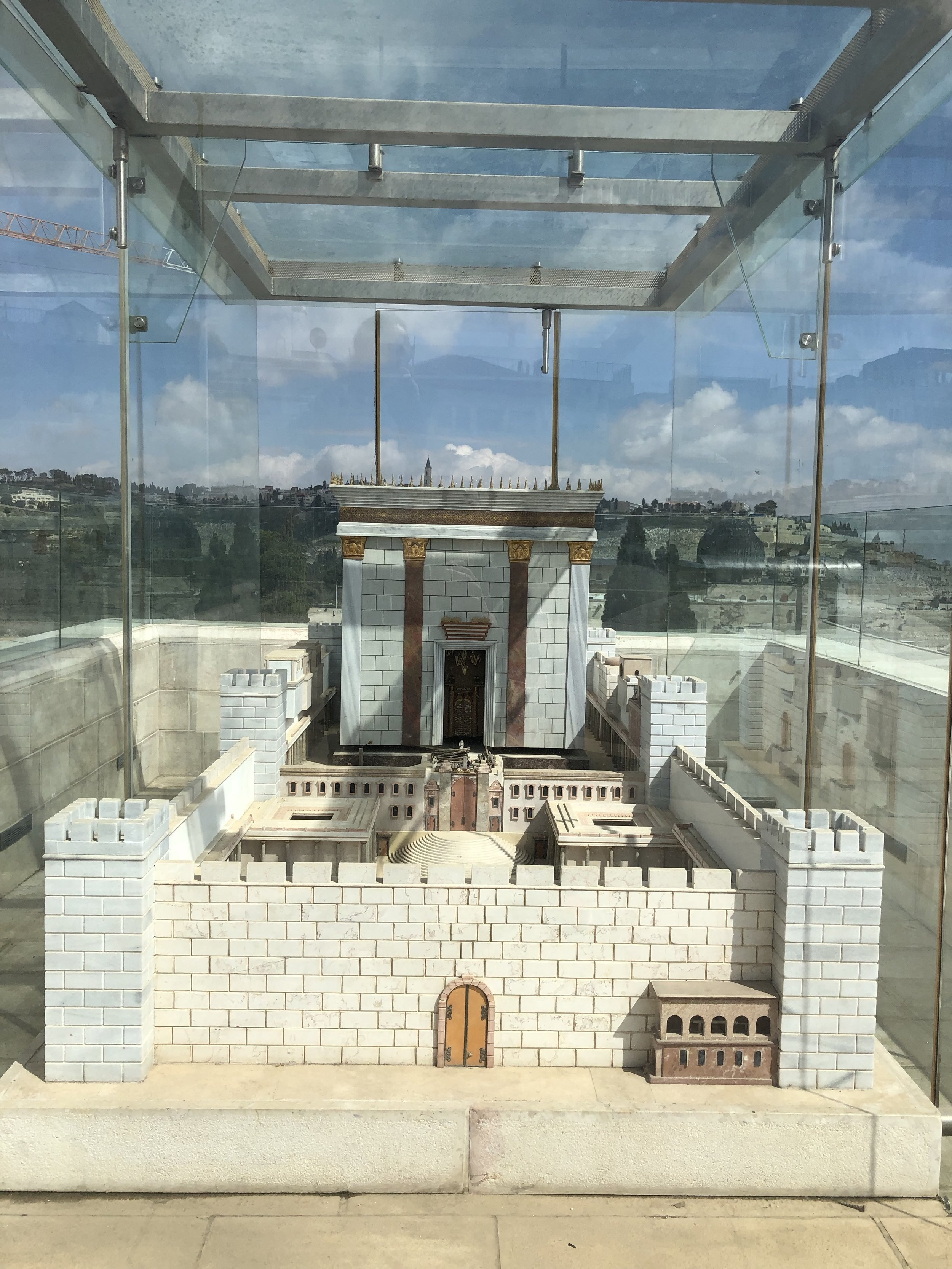 The Second Temple, scaled down