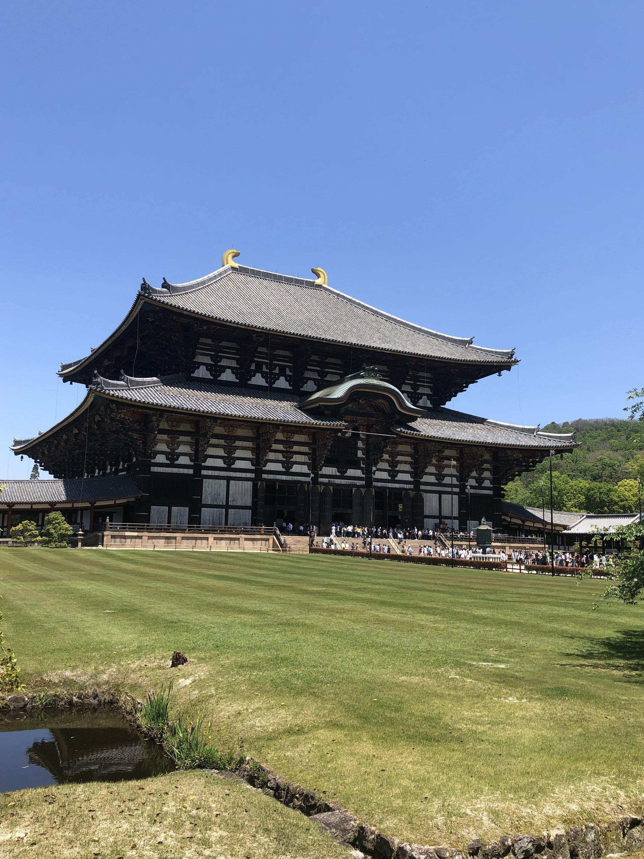 Toda-ji - Buddhist temple in Nara