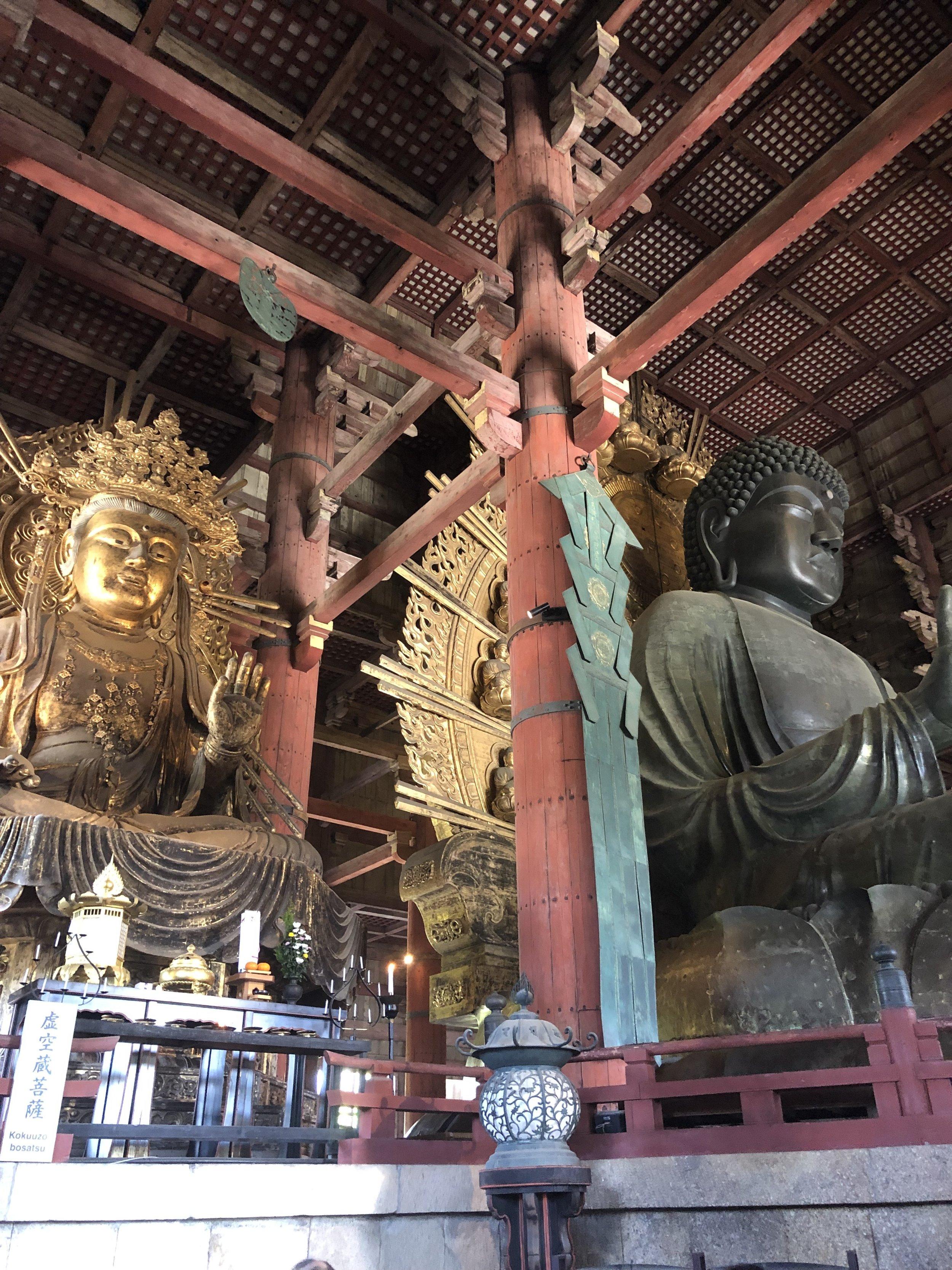 Biggest Buddha in Japan at Toda-ji (Nara)