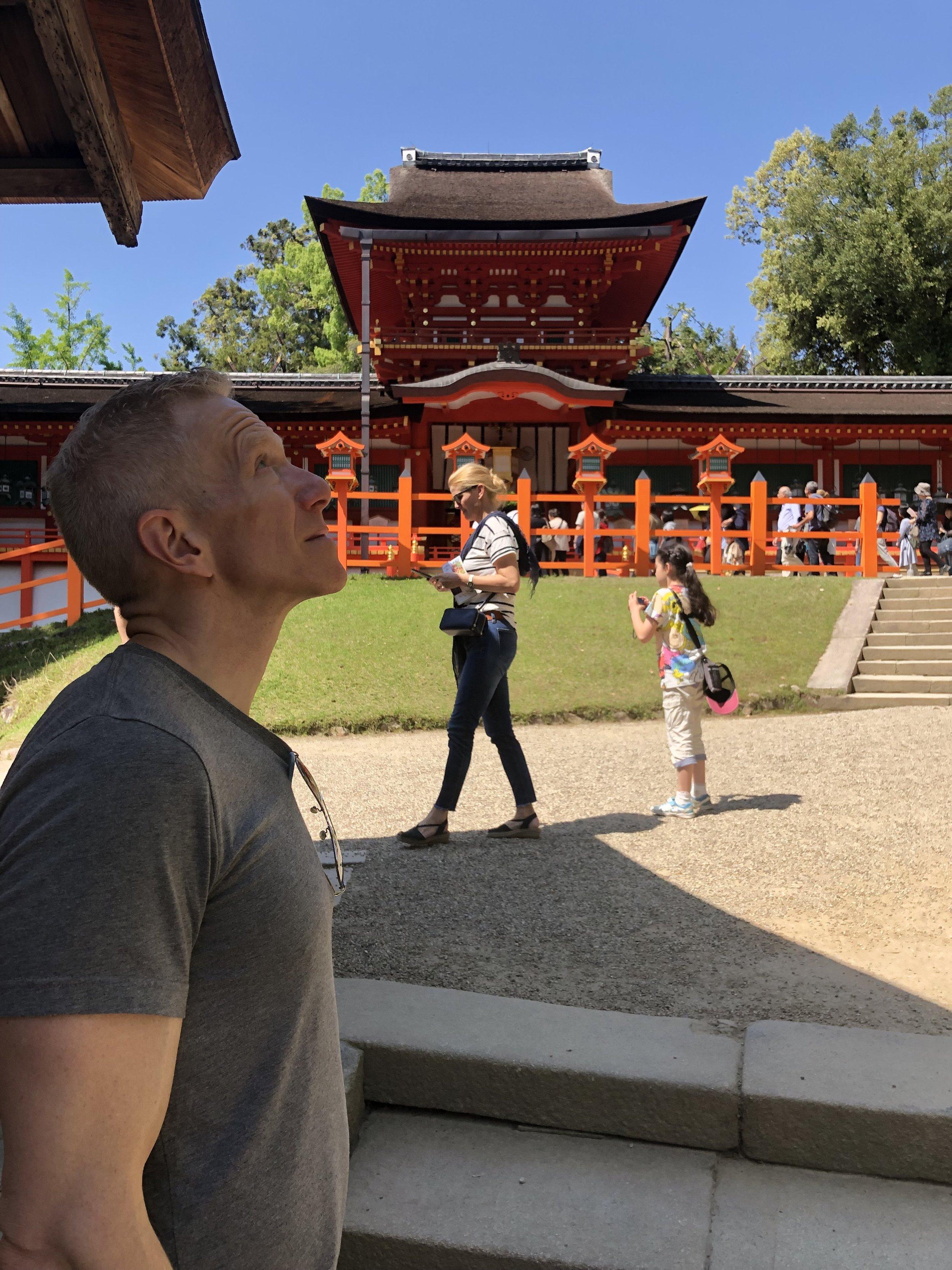 Perspective - at Toda-ji (Nara)