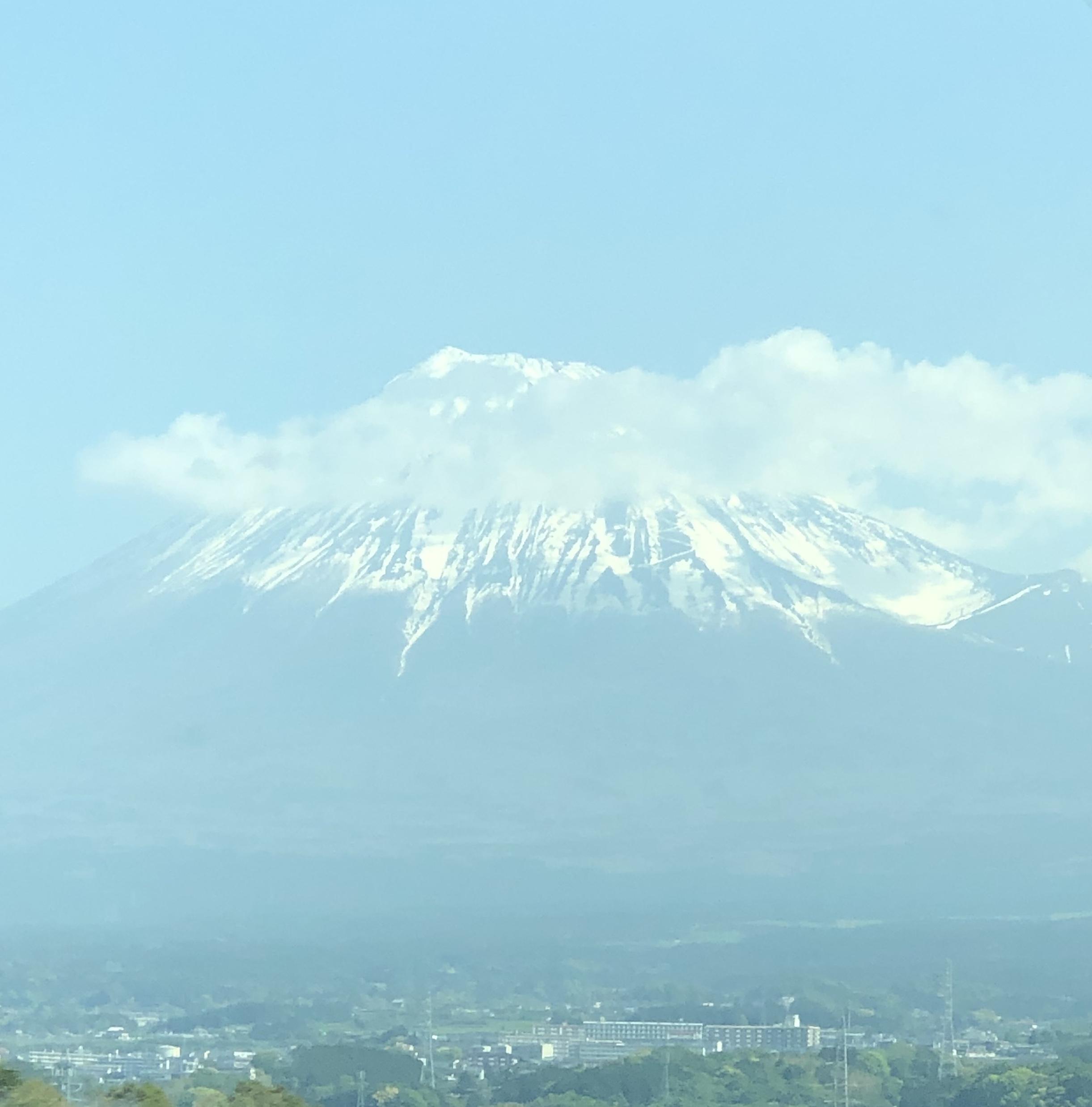 Mt. Fuji, from the Shinkansen (Bullet Train)