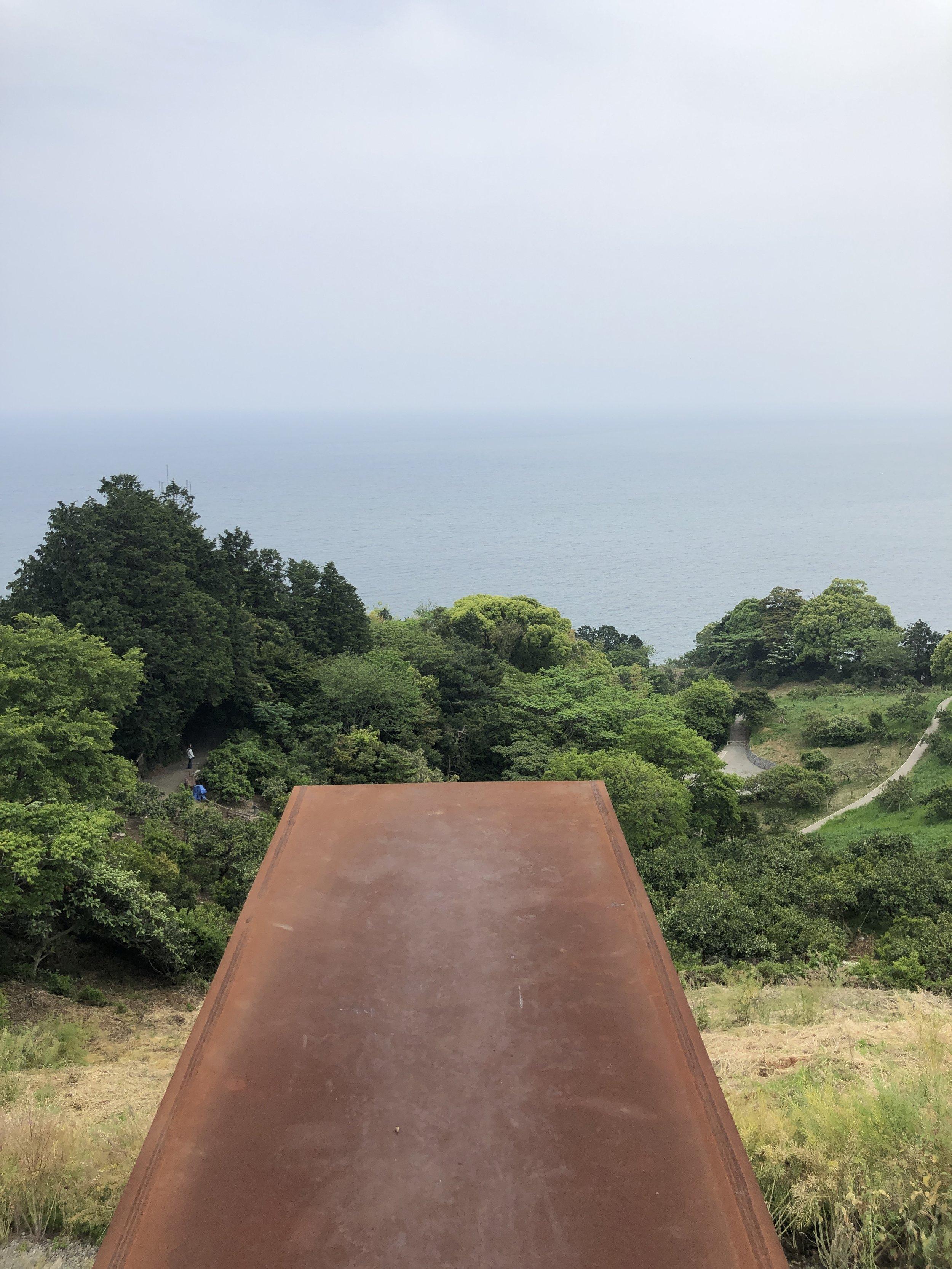 Jutting into mid-air - Enoura Obervatory (Odawara)